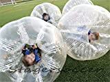 Stagersoccer® Adult Size Bubble Ball Human Hamster Ball Dia 5' (1.5m) Transparent Clear 2 per Box