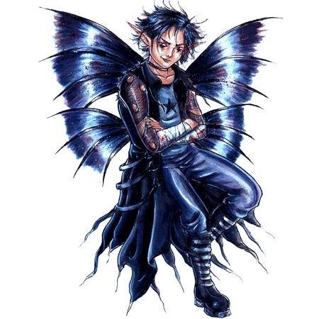 Goth Boy Fairy Sticker - Buy Goth Boy Fairy Sticker - Purchase Goth Boy Fairy Sticker (cooolstuff4u, Toys & Games,Categories,Arts & Crafts,Stamps & Stickers)