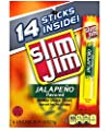 Slim Jim Freakin' Hot Jalapeno Snack Sticks, 0.28 Ounce, 14 Count by ConAgra Foods Sales, Inc.