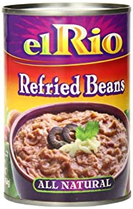 El Rio Beans Refried, 16-Ounce (Pack of 12)