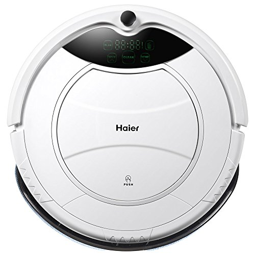 Haier SWR-T320 Pathfinder Robot Aspirateur Autonome Nettoyeur Puissance Aspiration Forte Nettoyeur Vapeur Sec et Humide