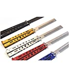 Metal Practice Butterfly Trainer Knife