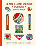 img - for Frank Lloyd Wright Designs Sticker Book book / textbook / text book