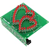 Rotating Hearts Valentine LED Display, Assembled