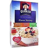 Quaker Instant Oatmeal Flavor Variety 15.1 OZ (430g)