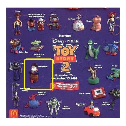 Amazon.com  Happy Meal Toy Story 2 Prospector Pop Up Toy #12 1997  Everything Else