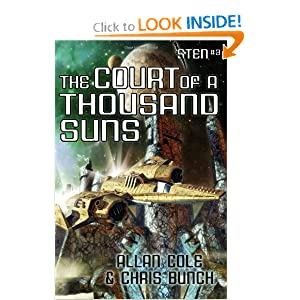 The Court of a Thousand Suns: The Sten Series, Vol. 3 by Allan Cole and Chris Bunch