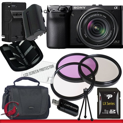 High Quality Cheap Sony Alpha NEX-7 Digital Camera with 18-55mm Lens (Black) Package 1 Cheap product