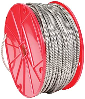 Koch 015072 3/32 by 250-Feet 7 by 7 Cable , Stainless Steel from Koch Industries