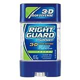 Right Guard Sport 3-D Odor Defense Antiperspirant & Deodorant Clear Gel Fresh 90 ml