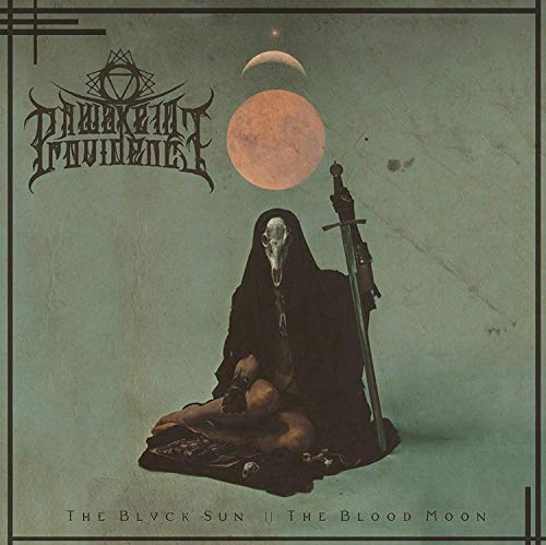 CD : A WAKE IN PROVIDENCE - Blvck Sun /  Blood Moon (CD)