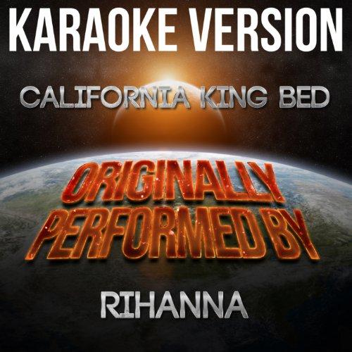 California King Bed Rihanna 8298 front