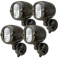 4-Pack Mr Beams 200-Lumens Spotlight System