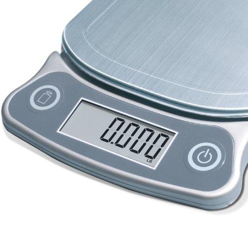 eatsmart precision elite digital kitchen scale 15 lb