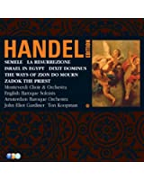Handel Edition Volume 5 - Semele, Israel In Egypt, Dixit Dominus, Zadok The Priest, La Resurrezione, The Ways Of Zion Do Mourn