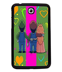Printvisa 2D Printed Love Designer back case cover for Samsung Galaxy Tab 3 7.0 - D4138