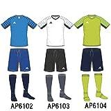 adidas(アディダス) KIDS X Rengi トレーニング スターターセット (4点セット) (biw75) AP6102ブルー 120