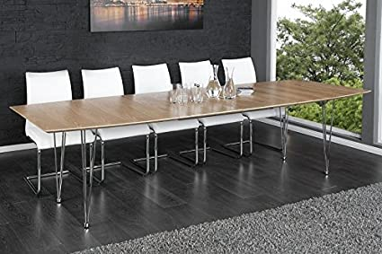 Continental >< Wood Extending Dining