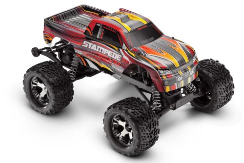 Traxxas Stampede VXL 2WD Monster Truck, 1:10 Scale
