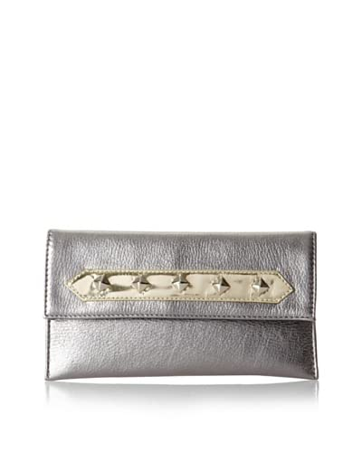 Possé Women's Ives Clutch, Anthracite, One Size
