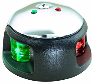 Attwood LED 1-Mile Deck Mount Navigation Bow Side Light by attwood