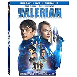 Valerian & City 1,000 Planets [Blu-ray]