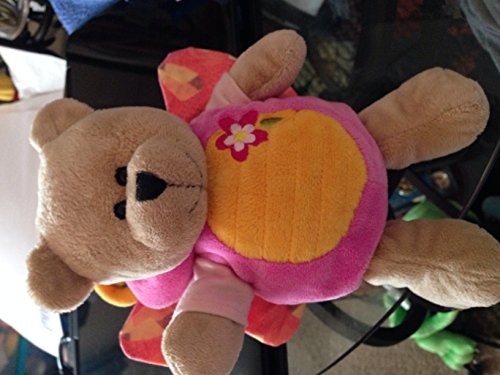 Starbucks Pink Butterfly 2008 Plush Bear - 1