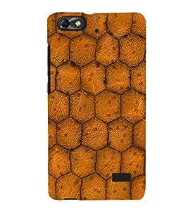 EPICCASE honeycomb Mobile Back Case Cover For Xiaomi Redmi Mi4c (Designer Case)
