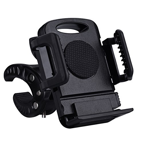 Mpow Universal Bike Phone Mount Holder for Motorcycle, Street Bike, Dirt Bike, Road Bike, Mountain Bike, Baby Carriage, iPhone 7 7 Plus 6S and Android Smartphones (Motorcycle Ipod Accessories compare prices)