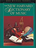 The New Harvard Dictionary of Music (Harvard University Press Reference Library)