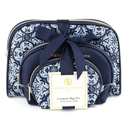 adrienne-vittadini-womens-three-dome-shaped-cosmetic-bags-set-blue-tile-print-by-adrienne-vittadini