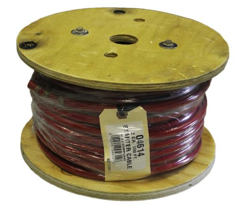 30 Feet Of 2 Gauge Red Battery Cable