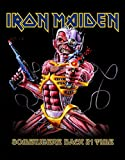 IRON MAIDEN IRON MAIDEN SOMEWHERE BACK IN TIME Backpatch