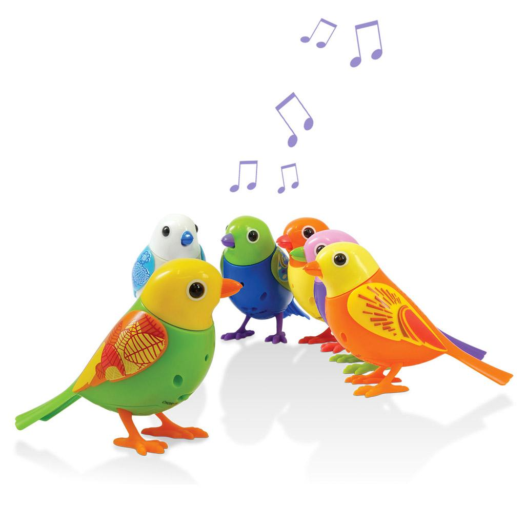 Digibirds chorale - Dessin oiseau qui chante ...