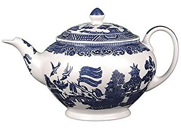Johnson Brothers Willow Blue Teapot