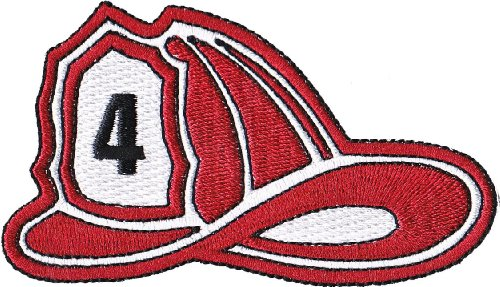 Application Firefighter's Helmet Patch