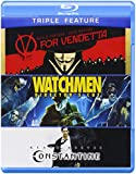 Triple Feature: V For Vendetta / Watchmen / Constantine [Blu-ray]