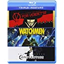 V for Vendetta / Watchmen / Constantine (Triple-Feature) [Blu-ray]