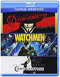 V for Vendetta & Watchmen & Constantine [Blu-ray]