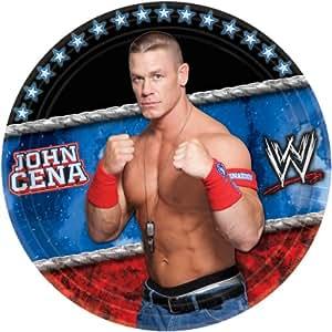 """Amscan WWE 9"""" Plate"""