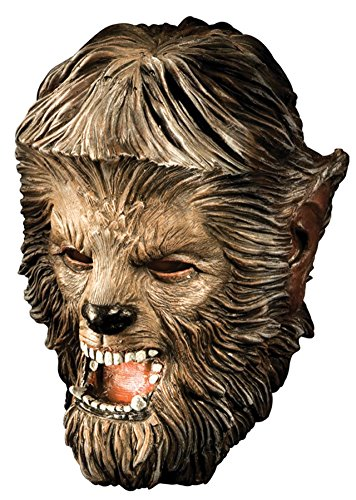 Wolfman Deluxe Beast Monster Horror Latex Adult Halloween Costume Mask