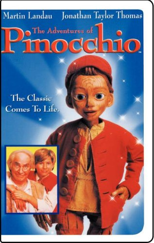 The Adventures Of Pinocchio (1996) [Vhs] front-1009852