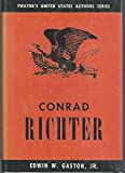 img - for Conrad Richter, (Twayne's United States authors series, 81) book / textbook / text book