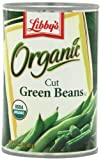 Libby's Organic Cut Green Beans, 14.5-Ounces Cans (Pack of 12)