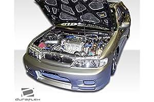 1996-1997 Honda Accord 4DR Duraflex R33 Body Kit - 4 Piece - Includes R33 Front Bumper Cover (101475) Spyder Rear Bumper Cover (101713) Spyder Side Skirts Rocker Panels (101450)