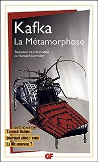 La m�tamorphose  par Franz Kafka