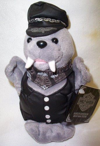 "Harley Davidson Stuffed Walrus - ""Tusk"" - 1"