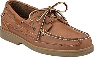 Slide into the comfortable Sperry Women's Drift Hale Boat Shoes for a stroll down the boardwalk. The lightweight, flexible outsoles provide superior traction on deck.