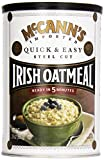 McCanns Irish Oatmeal Quick & Easy Steel Cut -- 24 oz