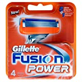 Gillette Fusion Power Blades - 4 Packby Gillette